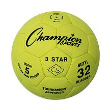 Champion 3 Star Indoor Soccer Balls