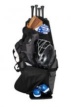 New Era ® Shutout Wheeled Bat Bag
