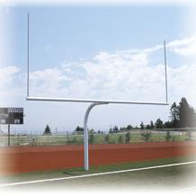 Semi-Permanent Gooseneck Offset Goal Posts