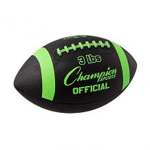 3lb Official Size Weighted Football Trainer